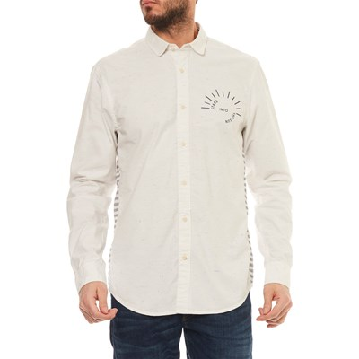 SCOTCH & SODA Chemise manches longues - blanc