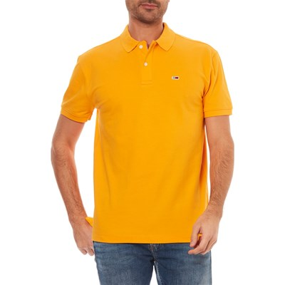 TOMMY JEANS Polo manches courtes - jaune