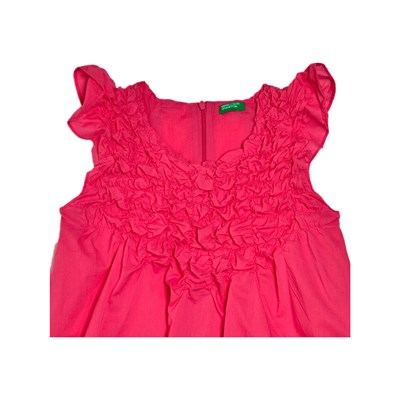 Benetton Kid robe droite - rose