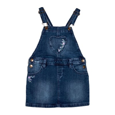 Benetton Kid robe en jean - bleu jean