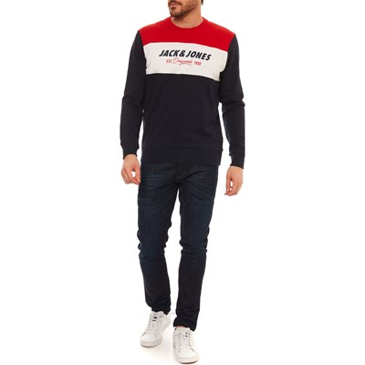 JACK & JONES Jorshakedowns - Sweat-shirt - bleu marine