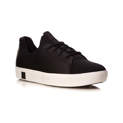 Pelle Sneakers Amherts Nero In Timberland 5wtXSqAWA