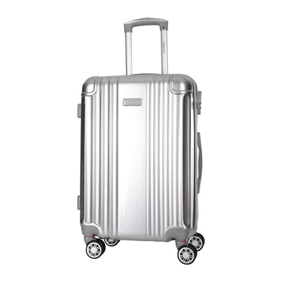 Travel One Comilla - Valise 8 roues 66 cm - argent