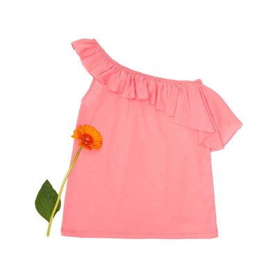 BENETTON Zerododoci - Top - rose
