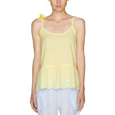 BENETTON Top - jaune