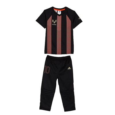 Adidas Performance i mm messi - ensemble t-shirt et pantalon - noir