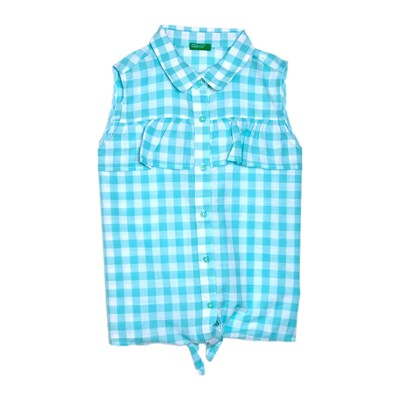 Benetton Kid chemise sans manches - turquoise