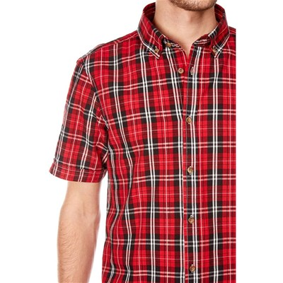BEST MOUNTAIN Chemise manches courtes - rouge