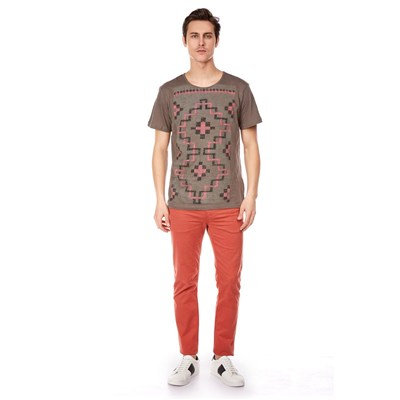 BEST MOUNTAIN T-shirt manches courtes - plomb