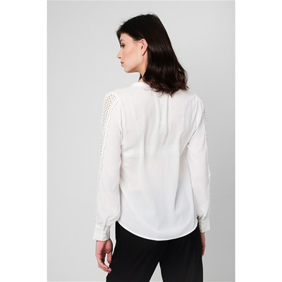 BEST MOUNTAIN Blouse - blanc