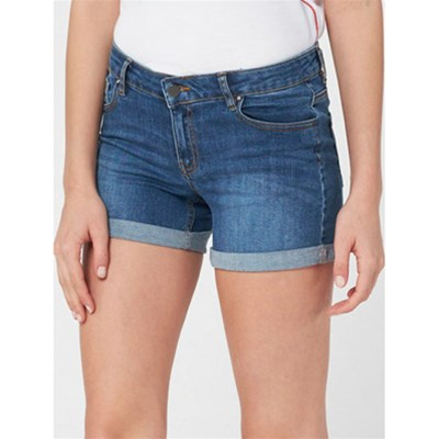 BEST MOUNTAIN Short en jean - bleu jean