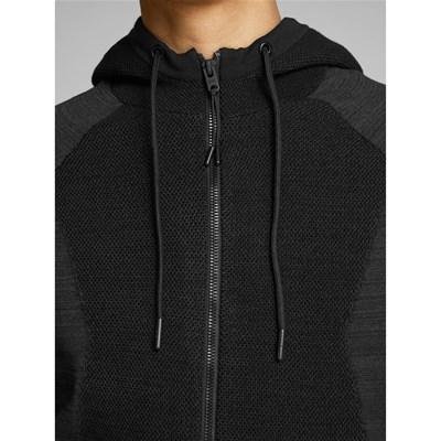 JACK & JONES Claude - Sweat à capuche - noir