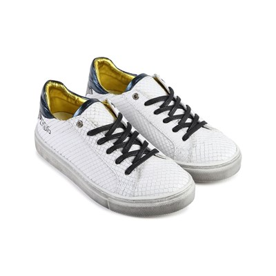 ZADIG & VOLTAIRE Baskets basses - blanc