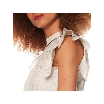SONIA BY SONIA RYKIEL Top en broderie anglaise - blanc