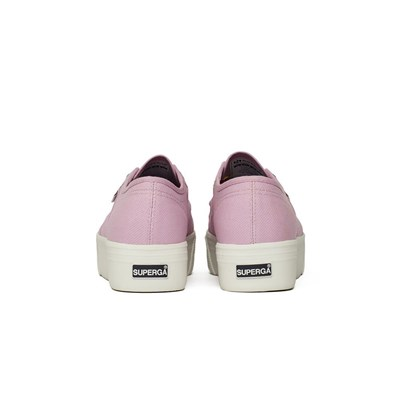 SUPERGA Baskets basses - rose