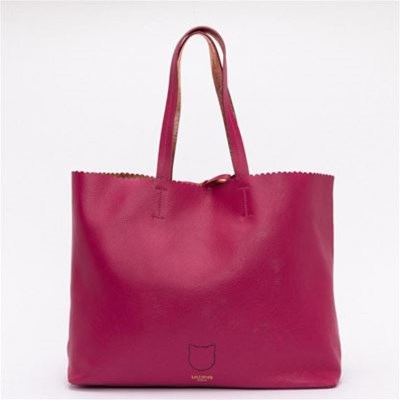 LOLLIPOPS Dream - Sac cabas réversible en cuir - rose