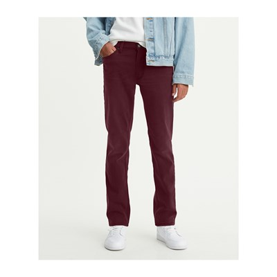 LEVI'S 511 - Jean slim - bordeaux