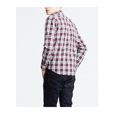 LEVI'S Barstow western - Chemise manches longues - rouge