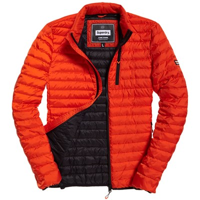 SUPERDRY Core down jacket - Doudoune - orange