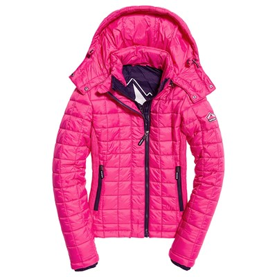 SUPERDRY Doudoune - rose