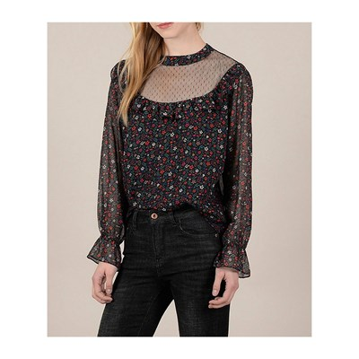 MOLLY BRACKEN Blouse - noir