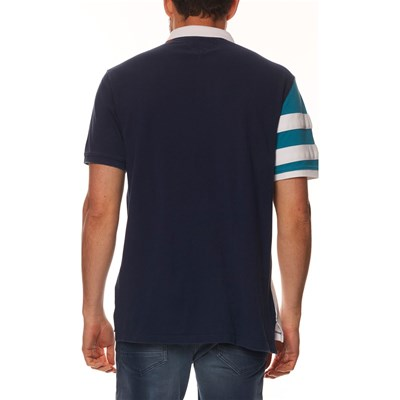 TOMMY JEANS Polo manches courtes - bleu marine