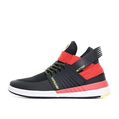 SUPRA Baskets basses - rouge