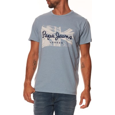 PEPE JEANS LONDON Dacey - Kurzärmeliges T-Shirt - blau