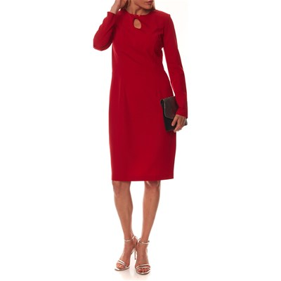 NIFE Robe droite - rouge