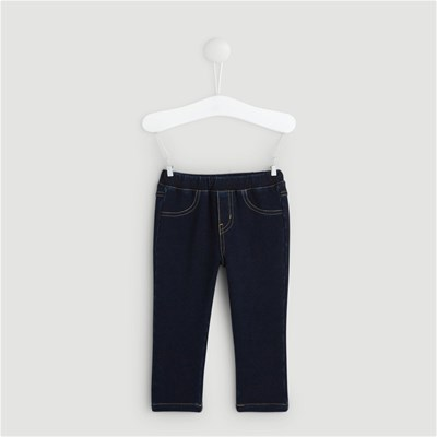BOUT'CHOU Jegging denim confort - bleu
