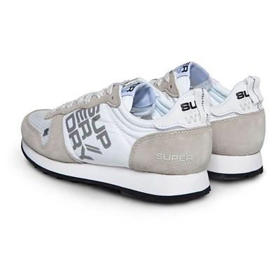 SUPERDRY Streetsport neon runner - Baskets basses - blanc