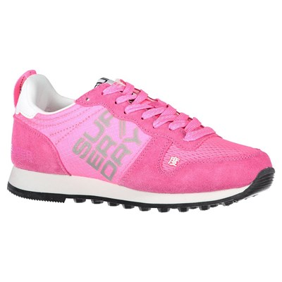 SUPERDRY Streetsport neon runner - Baskets basses - rose