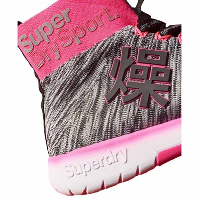 SUPERDRY Baskets montantes - gris