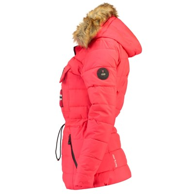 GEOGRAPHICAL NORWAY Belinda - Doudoune - corail