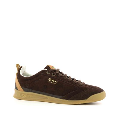 KICKERS Kick 18 - Baskets en cuir - marron