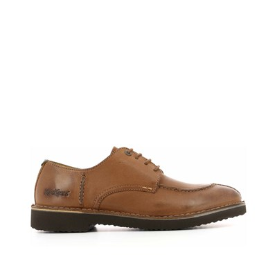 KICKERS Trainer - Derbies en cuir de vache - camel