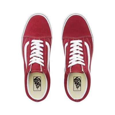 VANS UA Old Skool - Baskets Mode - rouge