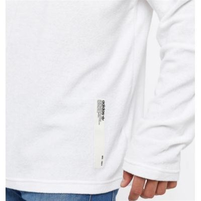 ADIDAS ORIGINALS NMD Crewneck - T-shirt manches longues - blanc