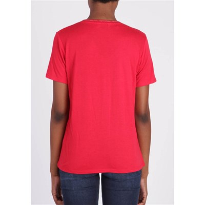 KAPORAL Week - T-shirt manches courtes - rouge
