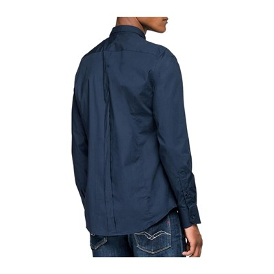 REPLAY Chemise manches longues - bleu