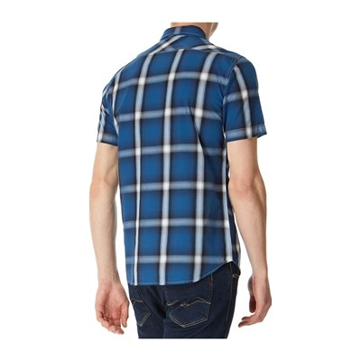 REPLAY Chemise manches courtes - bleu