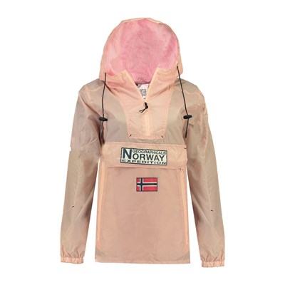 GEOGRAPHICAL NORWAY Downcity - Coupe-vent - rose clair