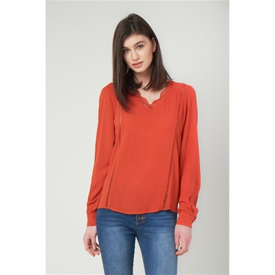 BEST MOUNTAIN Blouse - brique