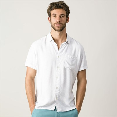 OXBOW Cermid - Chemise manches courtes - blanc