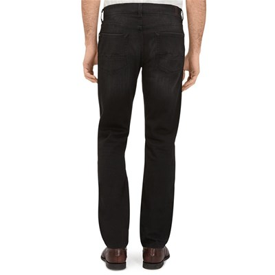 7 FOR ALL MANKIND Slimmy Relaxed - Jean regular - noir