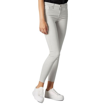 7 FOR ALL MANKIND Illusion - Jean skinny - gris