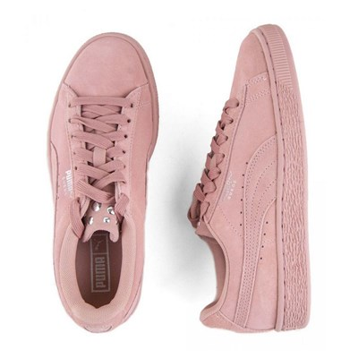 PUMA Jewel - Baskets basses en cuir - rose