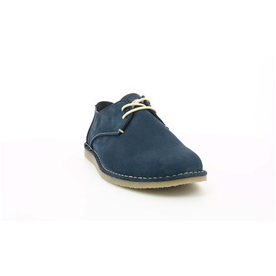 KICKERS Twistee - Derbies en cuir - bleu marine