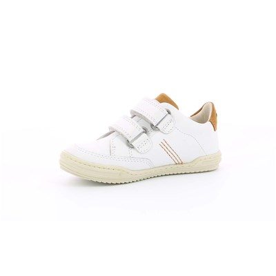 KICKERS Jouo - Baskets basses en cuir - blanc