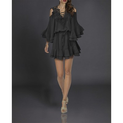 FAUST Robe patineuse - noir